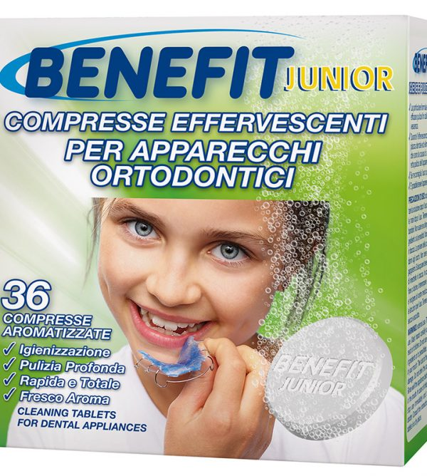016110_BENEFIT_COMPRESSE_APPARECCHIO_DENTALE_JUNIOR_36cpr